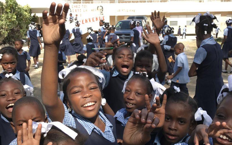 Bambini scuola Haiti