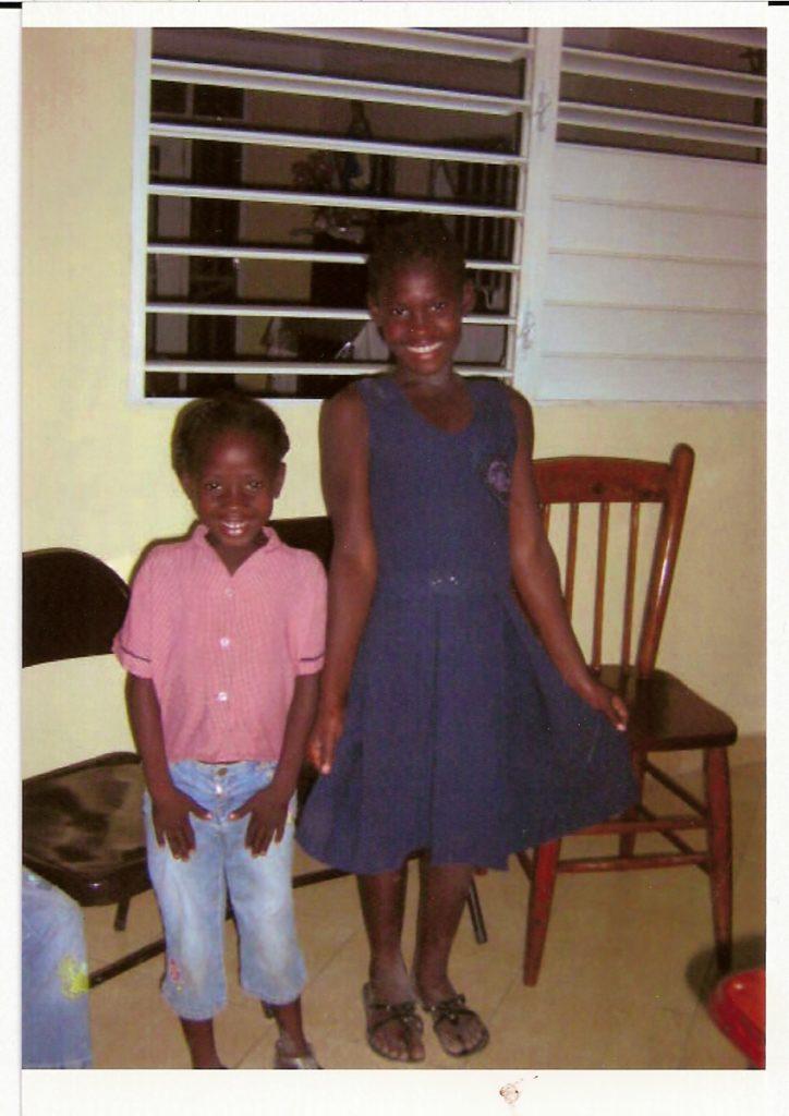 Progetto Emergenza Haiti-Le due ultime bambine accolte